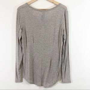 Kit and Ace Tops - Kit and Ace Snappy Long Sleeve Henley Top Size 10